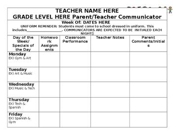Parent/Teacher Classroom Communicator