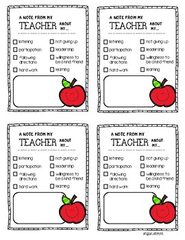 Parent-Teacher Communication Binder