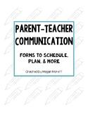 Parent-Teacher Communication Binder