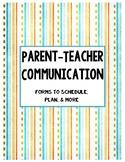 Parent-Teacher Communication Binder Cover