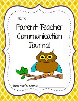 Parent -Teacher Communication Journal