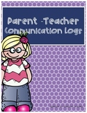 Parent-Teacher Communication Log
