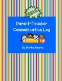 Parent-Teacher Communication Log - Freebie