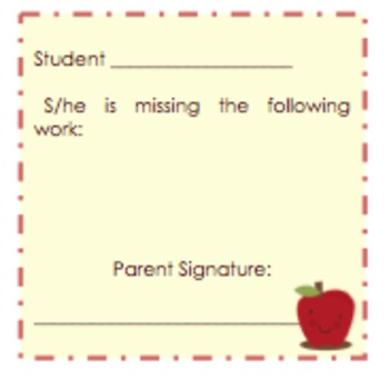 Sticky Notes, Parent & Teacher Communication, Editable!