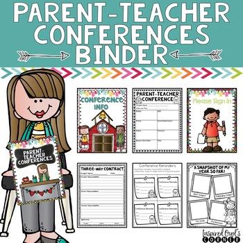Parent-Teacher Conferences Binder