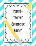 Parent-Teacher Conference Binder (mini bundle!)