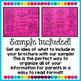 Parent Teacher Conference Brochure EDITABLE