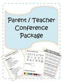 Pre-K Parent / Teacher Conference Bundle