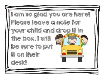 Parent/Teacher Conference Bundle