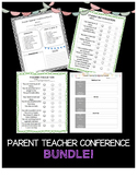 Parent Teacher Conference Bundle