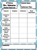 Parent Teacher Conference Check List - Fully Editable