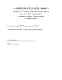 Parent-Teacher Conference Declination Form in ESPANOL