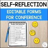 Student Self Reflection Form | Parent Teacher Conference Forms