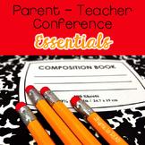 Parent Teacher Conference Essential Forms