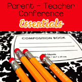 Parent Teacher Conference Essential Forms