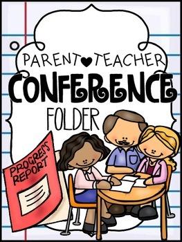 Parent/Teacher Conference Folder