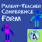 Parent-Teacher Conference Form