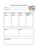 Parent Teacher Conference Form