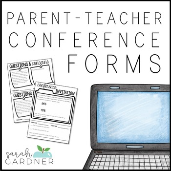 Parent Teacher Conference Forms [EDITABLE]
