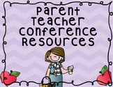 Parent Teacher Conference Schedule and Evaluation Forms