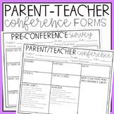 Parent Teacher Conference Forms