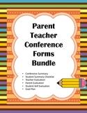 Parent Teacher Conference Forms Bundle