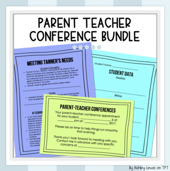 Parent Teacher Conference Forms Bundle