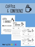 Parent Teacher Conference Forms- Coffee and Conference