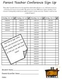 Parent Teacher Conference Forms Complete Pack!