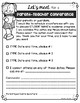 Parent-Teacher Conference Forms {EDITABLE} FREEBIE