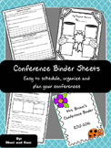 Parent-Teacher Conference Forms | Editable