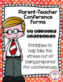 Parent-Teacher Conference Forms {Printables}