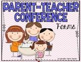 Parent-Teacher Conference Forms