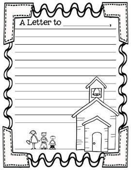 Parent Teacher Conference Fun Forms - Find my Desk and Letter to Parents