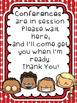 1st Grade Parent Teacher Conference PRINT and Go Forms
