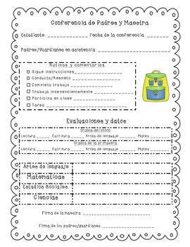 Parent-Teacher Conference Guide