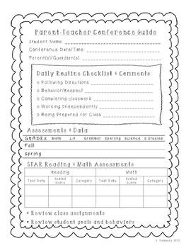 Parent Teacher Conference Guide