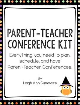 Parent-Teacher Conference Kit