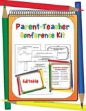 Parent-Teacher Conference Forms ~ Editable