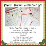 Parent Teacher Conference Kit editable in PowerPoint