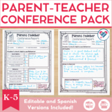Parent Teacher Conference EDITABLE
