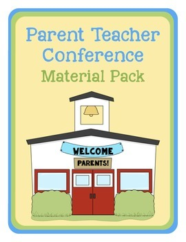 Parent Teacher Conference Material Pack