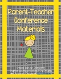 Parent Teacher Conference Materials Packet