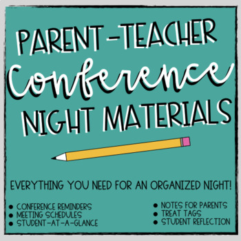 Parent-Teacher Conference Night Materials