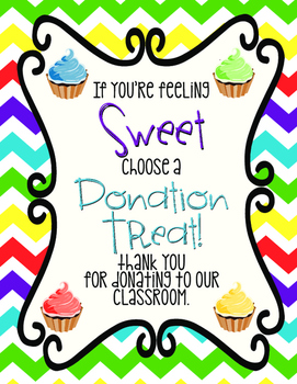 Donation, Back to School, Parent Teacher Conference, Open House, Thank You Sign