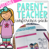 Parent-Teacher Conference Pack {Editable and with Google S