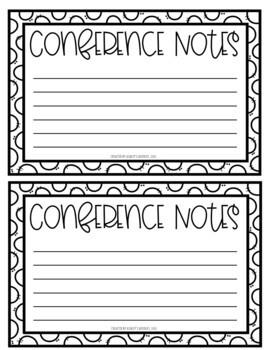 Parent Teacher Conference Package