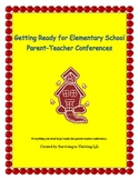 Elementary Parent Teacher Conference Packet - Everything You Need