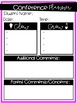Parent-Teacher Conference Planners-Editable