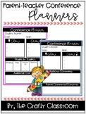 Parent-Teacher Conference Planners-Editable